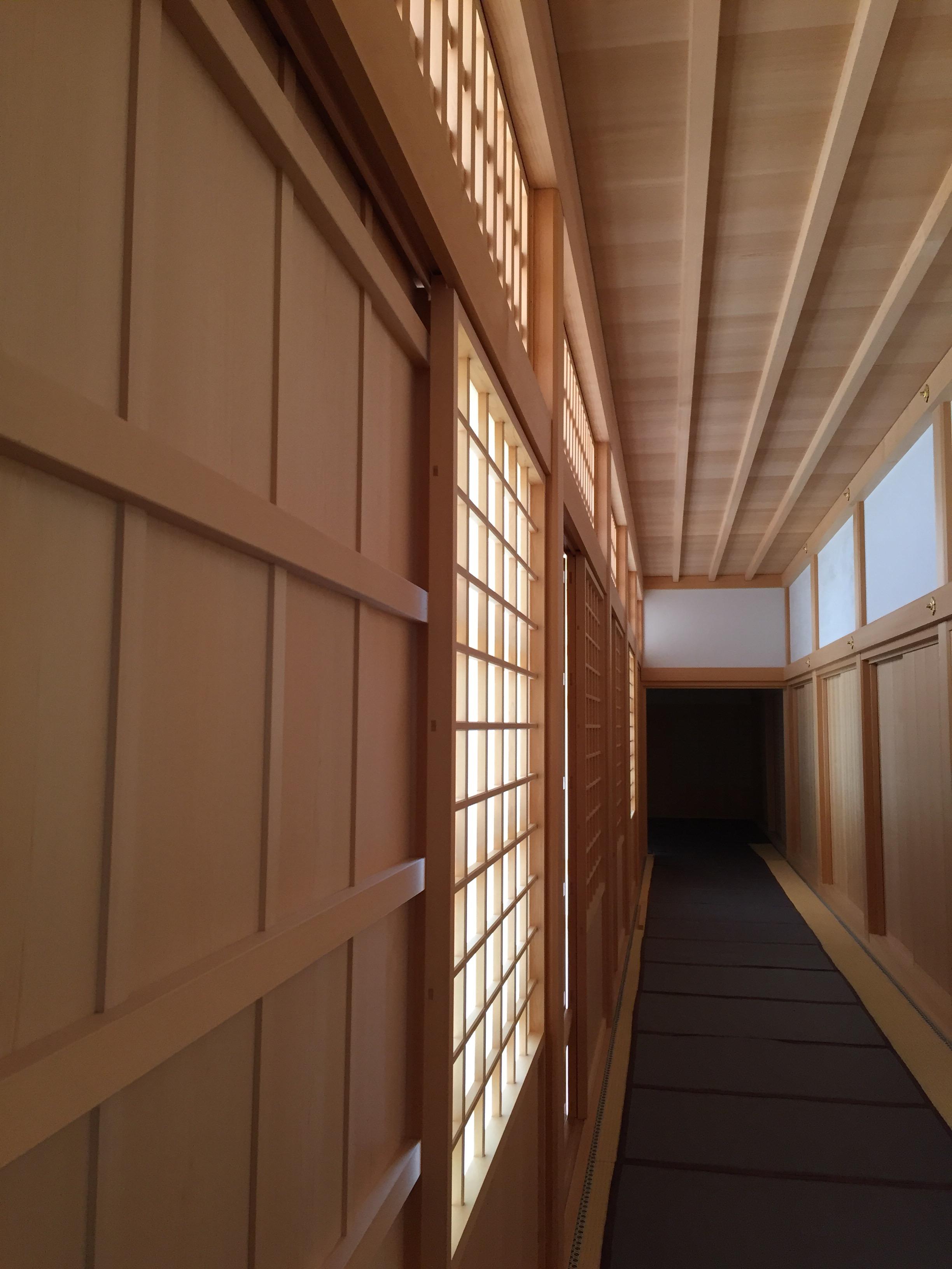 名古屋城 本丸御殿の廊下